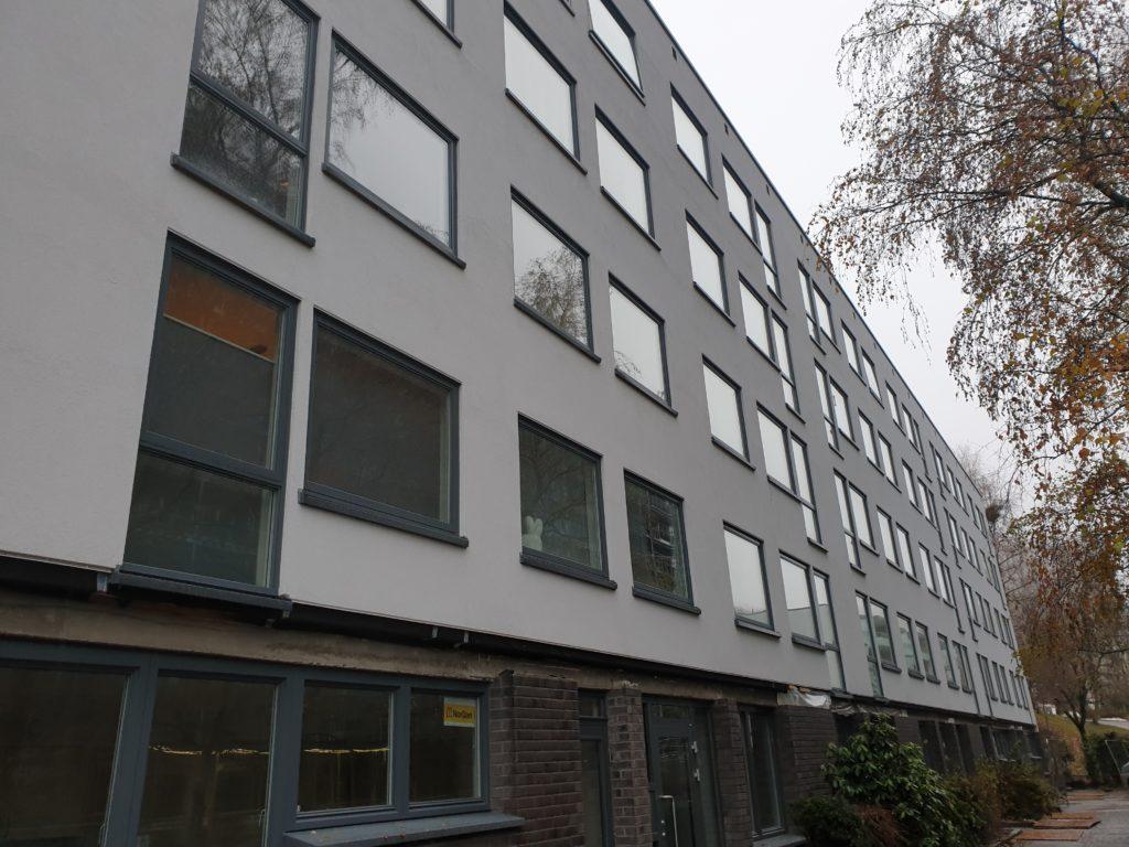 Ferdig fasade